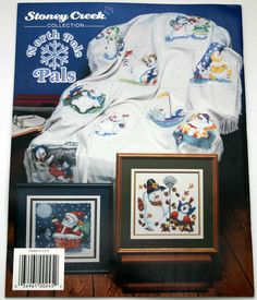 "Counted Cross Stitch by Stoney Creek ""North Pole Pals"" Pattern Leaflet NEW by NanasCrossStitch on Etsy"