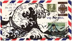 John Fellows / Mail Art - BOOOOOOOM! - CREATE * INSPIRE * COMMUNITY * ART * DESIGN * MUSIC * FILM * PHOTO * PROJECTS
