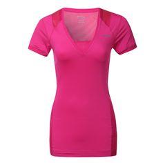 08d68ef2dbd6b3 Reebok Womens EasyTone Pink T-Shirt Band Hoodies