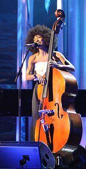 Esperanza Spalding ~ American Muscian, Vocalist, Composer, Educator, Bandleader ~ Instruments: Upright Bass, Bass Guitar
