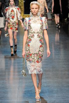 // Fall 2012 RTW : Dolce & Gabbana