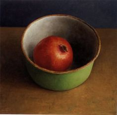 thought you'd really like this!! and Vivian too . .  Green Bowl II    by Van Riswick