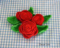 Die 661 Besten Bilder Von Häkeln Rosen In 2019 Crochet Flowers