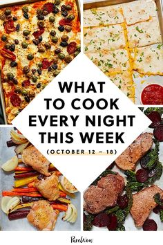 Less time washing dishes means more time for…well, whatever your heart desires. Here are seven sheet-pan meals that are quick, delicious and easy to clean up. #dinner #recipes #cooking Dinner Party Recipes, Delicious Dinner Recipes, Savory Salads, Food Industry, How To Dry Oregano, What To Cook, Meals For The Week, Sheet Pan, Food Photo