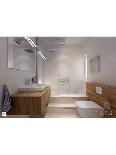 Łazienka - schody od wanny
