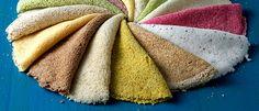 Conheça a novidade das tapiocas coloridas - Lucilia Diniz