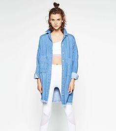 How to Make Your Denim Jacket Look Cool via @WhoWhatWear