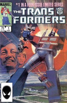 "Before it was a movie: Marvel had the license to publish comics based on ""Transformers""; its animation arm made the cartoon series."