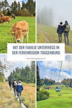 So viele schöne und unvergessliche Momente haben wir als Familie in der Ferienregion Toggenburg bereits erlebt. Bei jedem Besuch haben wir eine neue Seite der facettenreichen Region entdeckt. In den Herbstferien waren wir wieder da und haben unsere Toggenburger Liebesgeschichte um ein weiteres, klangvolles Kapitel ergänzt! #Toggenburg #Familienferien #DieAngelones Hiking Trails, Switzerland, Happy, Animals, New Adventures, Love Story, Family Getaways, Family Life, Time Out