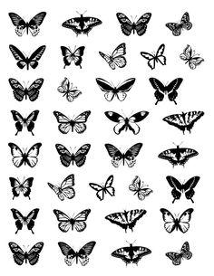 Butterfly Ankle Tattoos, Butterfly Tattoos For Women, Small Butterfly Tattoo, Butterfly Tattoo Designs, Unique Tattoos For Women, Unique Small Tattoo, Bild Tattoos, Neue Tattoos, Tattoo Hals