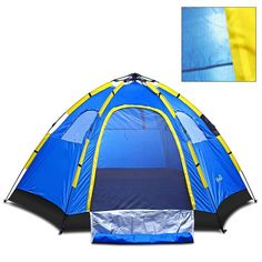 Instant Family Tent - 6 Person Large Automatic Pop Up- Waterproof