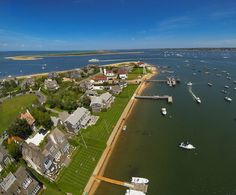 Aerial view of Brant Point