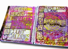 art journal pages | art journal ideas | art journal techniques learn how to get your art journal published in  http://schulmanart.blogspot.com/2015/01/how-to-get-published-in-art-magazines.html