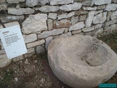 La macina nell'anfiteatro romano