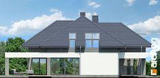 Dom w maciejkach Gazebo, Pergola, Floor Plants, Fantasy House, Dream House Exterior, Modern House Plans, Outdoor Structures, House Design, Flooring