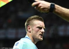 Jamie Vardy was brought off the bench again but couldn't turn the game for his country England Euro 2016, Jamie Vardy, Iceland, Lions, Men, Fictional Characters, Country, Ice Land, Lion