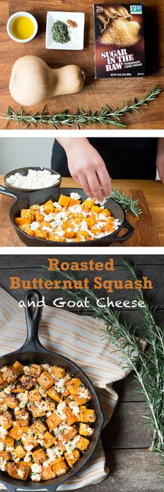 This dish will make the perfect side at any holiday get-together this season. Just toss your squash with a few seasonings, add some goat cheese crumbles, and sprinkle with Sugar In The Raw® in a skillet. In 20 short minutes, you'll be enjoying the delicious combo of winter squash and zesty cheese.