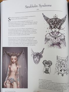 Enchanted Doll Book by els82, via Flickr