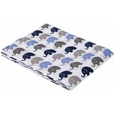Bacati Elephants Mini Bacati Elephants Fitted Crib Sheet, Available in Multiple Colors - Walmart.com