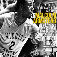 Malcom Armstead Senior Night