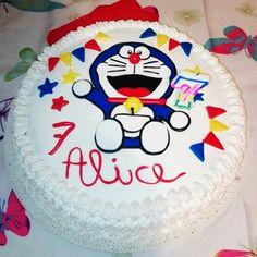 Torta doraemon, doraemon cake, doraemon, cakedesign, pasta di zucchero, dolci, torte