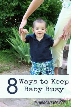 Mamas Like Me: 8 Activities to Keep #Baby Busy with The Weekly Kids Co-op