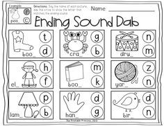 Help Me Sound It Out- {small group games that help with