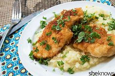 Perfectly crisp chicken schnitzel — a classic dish to add to your recipe box