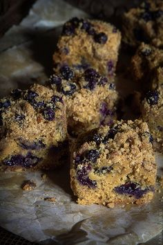 Gluten Free Blueberry Coffee-Cake via Bakers Royale