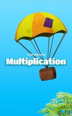 10monkeys Multiplication - screenshot #android #app #matematicas #educacion