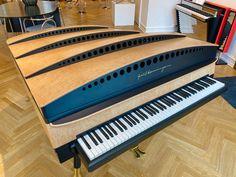 Piano Art, Piano Music, Ph Lamp, Jorn Utzon, Bauhaus Design, The Sonic, Grand Piano, Wooden Case, Sound Waves