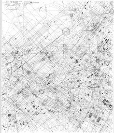 Giovanni Battista Piranesi, The Formal and Organizational Analysis of the Ichnographia Campus Martius at the Architecture Biennale, Venice, Italy, 2010 Paper Architecture, Architecture Concept Drawings, Landscape Architecture, Pavilion Architecture, Architecture Diagrams, Line Drawing, Drawing Tips, Urban Analysis, Formal Analysis
