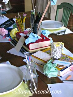 back to school party this is an awesome back to school table