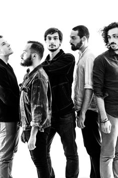Pashmak - Breakaleg - band - photoshooting - music - black and white - laila pozzo