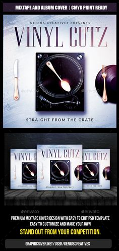 Vinyl Cover Template