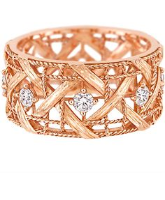Dior rose gold & diamonds
