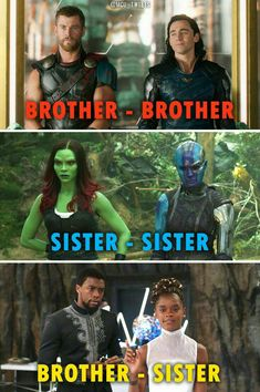 I would like to point out that even though they were all brought up as siblings the first two actually aren't blood related.