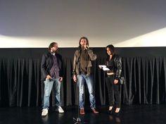 """Manuel Nieto presenta su película """"El lugar del hijo"""" junto a al actor protagonista Felipe Dieste, y la actriz peruana Karina Jordán. #festivalcinedelima"""