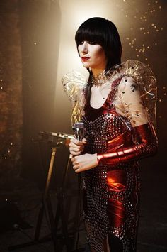 Karen Lee Orzolek (born November better known by her stage name Karen O, is a South Korean-born American singer and musician. Rock & Pop, Rock And Roll, Music Film, Music Icon, Music Love, My Music, Mazzy Star, Karen O, Women Of Rock