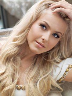 Blonde soapy massage