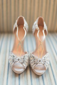 Beautiful Bridal Shoes from Emmy London