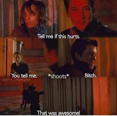 Best part but it is even funnier when Christina shoots him after! That makes it soooo much funnier!