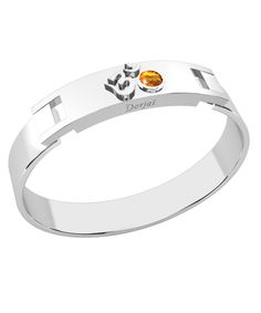 Bracelet Aum - Citrine orange