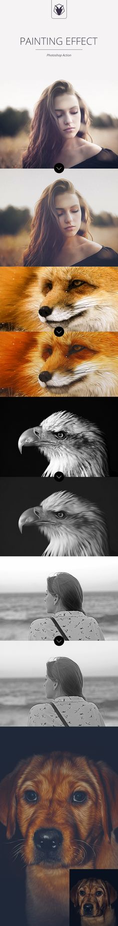 Painting Effect - Photoshop Action #photoeffect Download: http://graphicriver.net/item/painting-effect-photoshop-action/11684586?ref=ksioks