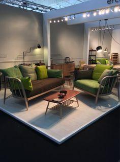 Canapé et fauteuil Nest - Ercol   à Maison&Objet 2015
