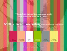 SS2017 trend forecasting