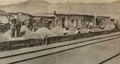 Pueblo de Carrera Pinto, año 1910.