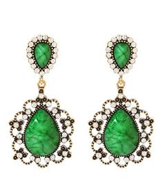 Take a look at this Evergreen Amagansett Earrings by Amrita Singh on #zulily today!