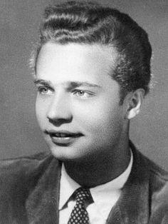 Vladimír Menšík jako sedmnáctiletý.