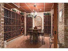 Wine Cellar - Barefoot Beach - Naples, Florida wine room - wine storage